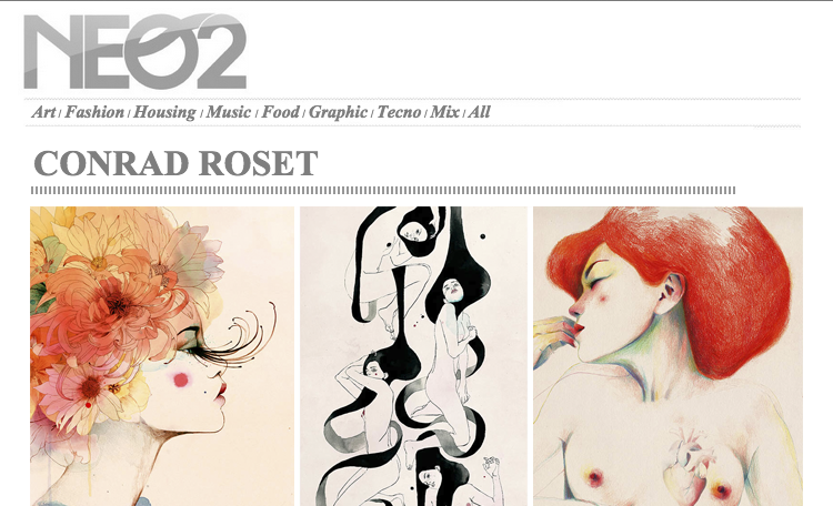 Interview | Conrad Roset Neo2 Magazine