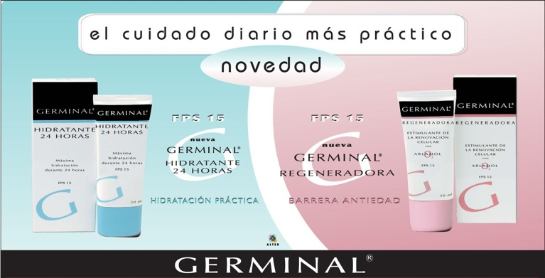 Perspex Display Germinal