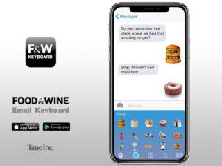 Food & Wine Emoji Keyboard