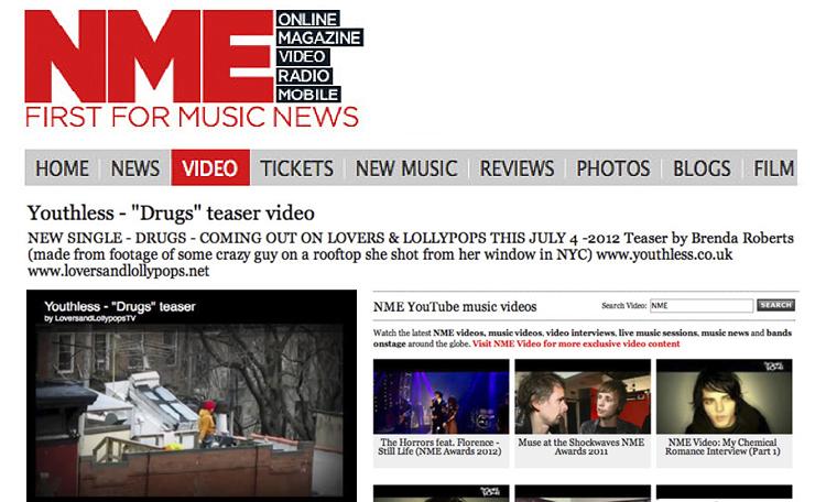 Press: NME Magazine