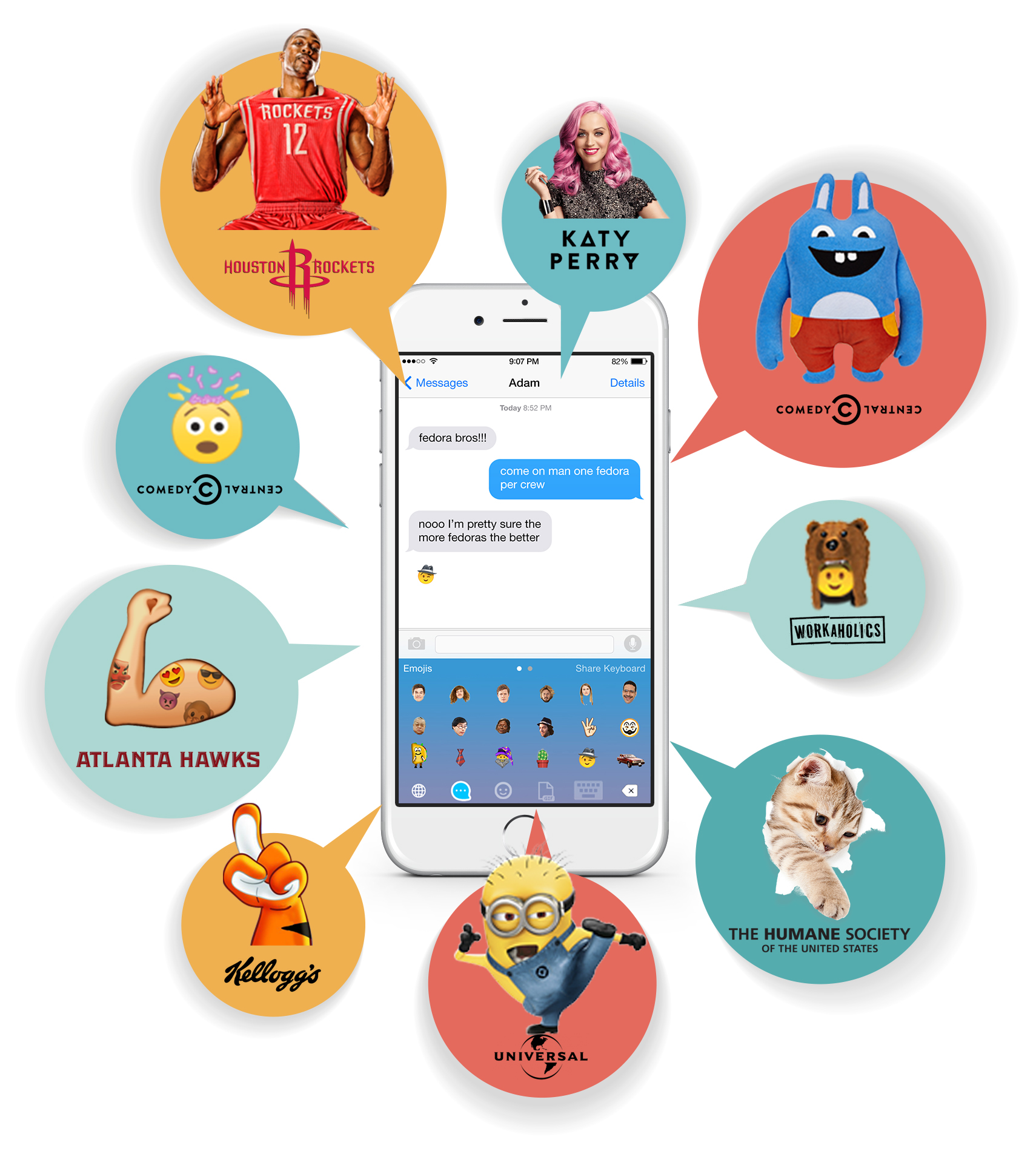 Infographics for Mobile Messaging