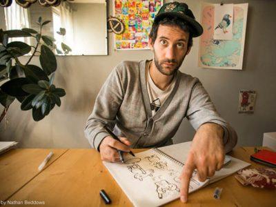 "Interview: Jon Burgerman ""Doodle Art"""