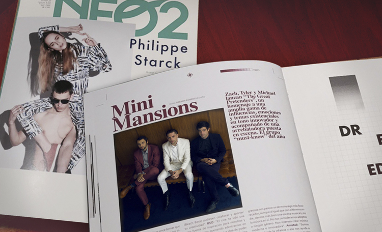 """Interview: Mini Mansions """"The Great Pretenders"""""""